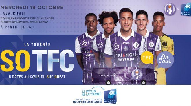 Mercredi le TFC s'entraîne aux Clauzades avec les jeunes du Lavaur FC