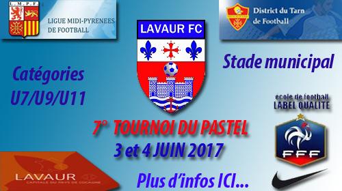 Planning du Lavaur FC week-end du 9 et 10 septembre