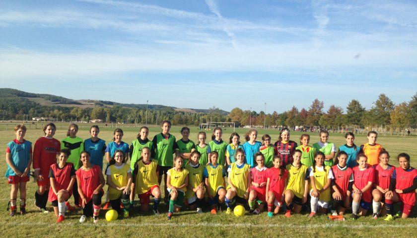 U14/U15: les féminines du Lavaur FC aux sélections du Tarn