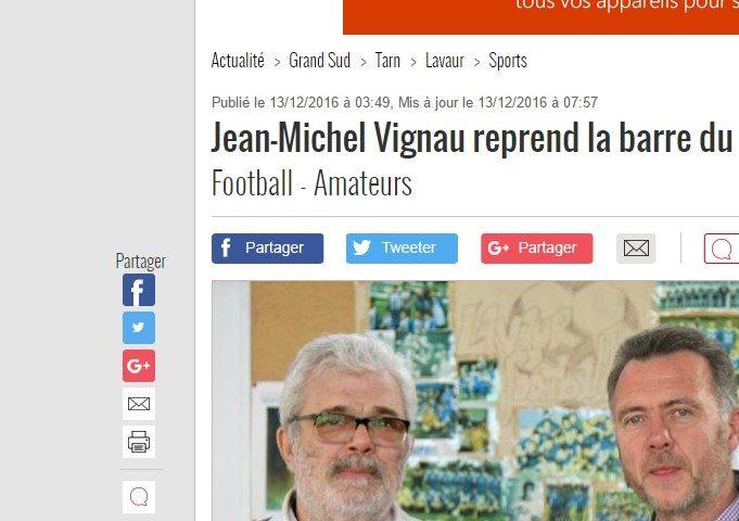 L'interview de Jean-Michel Vignau dans la DDM