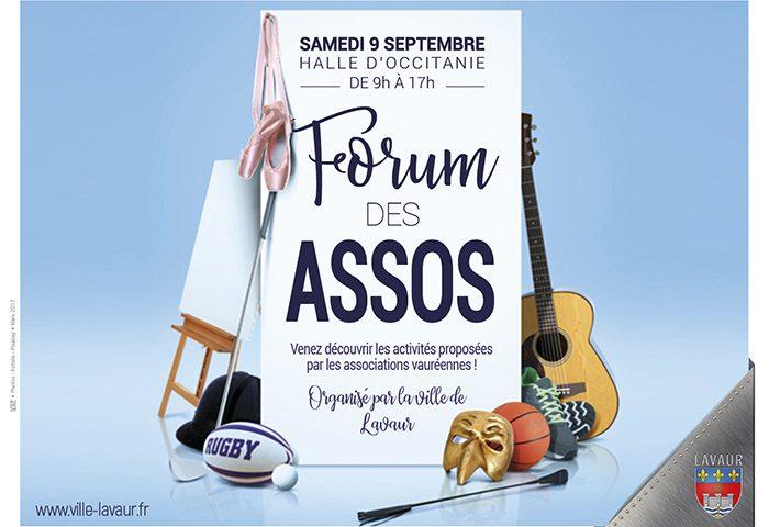 Le Lavaur FC au forum des associations samedi 9 septembre