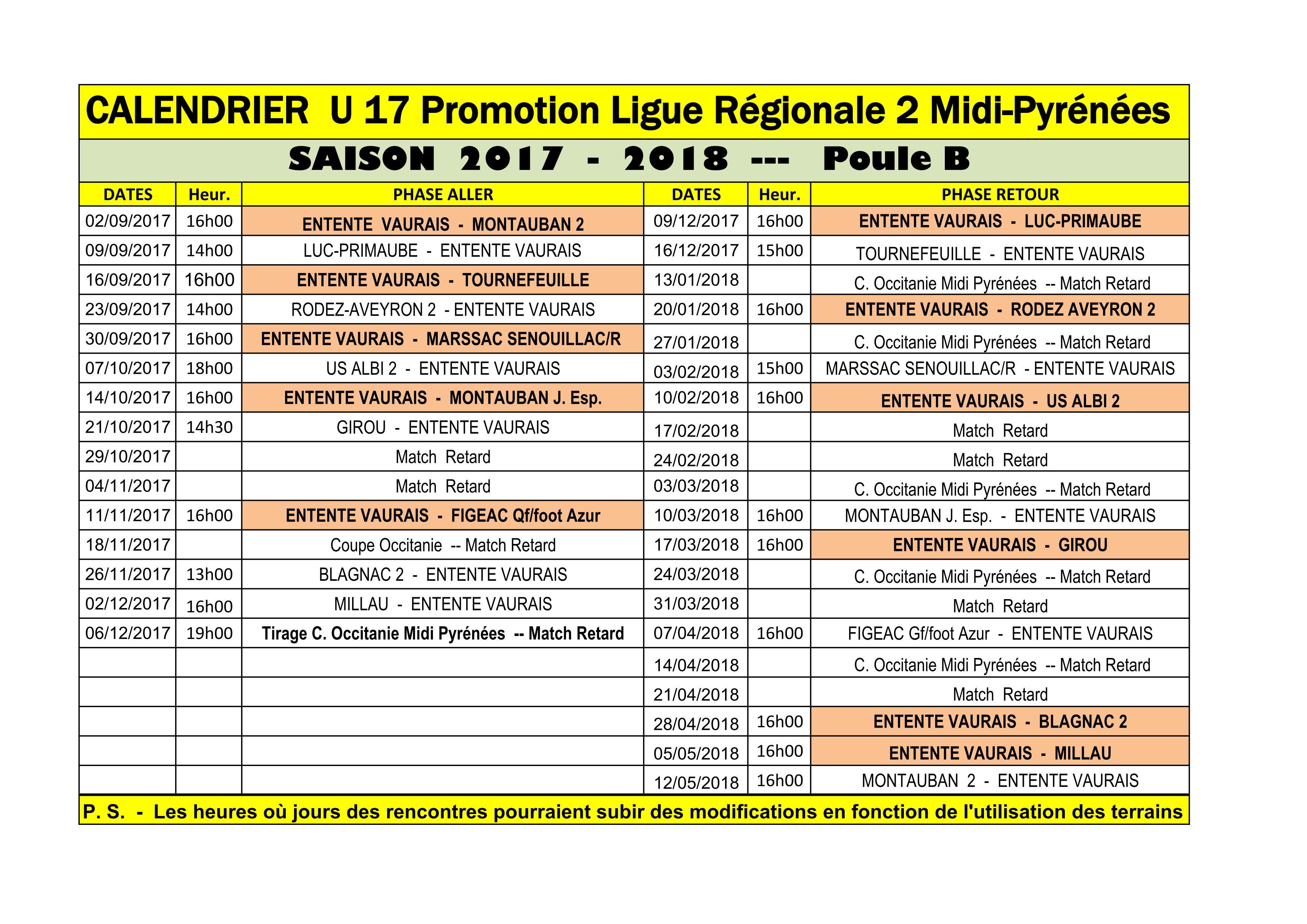 Calendrier des rencontres afrobasket 2018