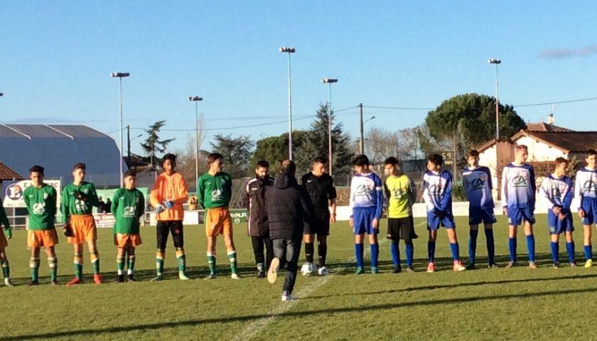 U15: l'équipe 1 fait match nul face à Briatexte