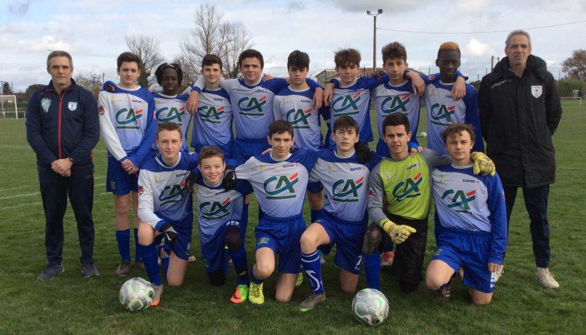 Les U15 qualifiés pour la demi-finale de la Coupe du Tarn