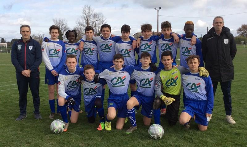 Une victoire méritée pour les U15 du Lavaur FC face à Albi