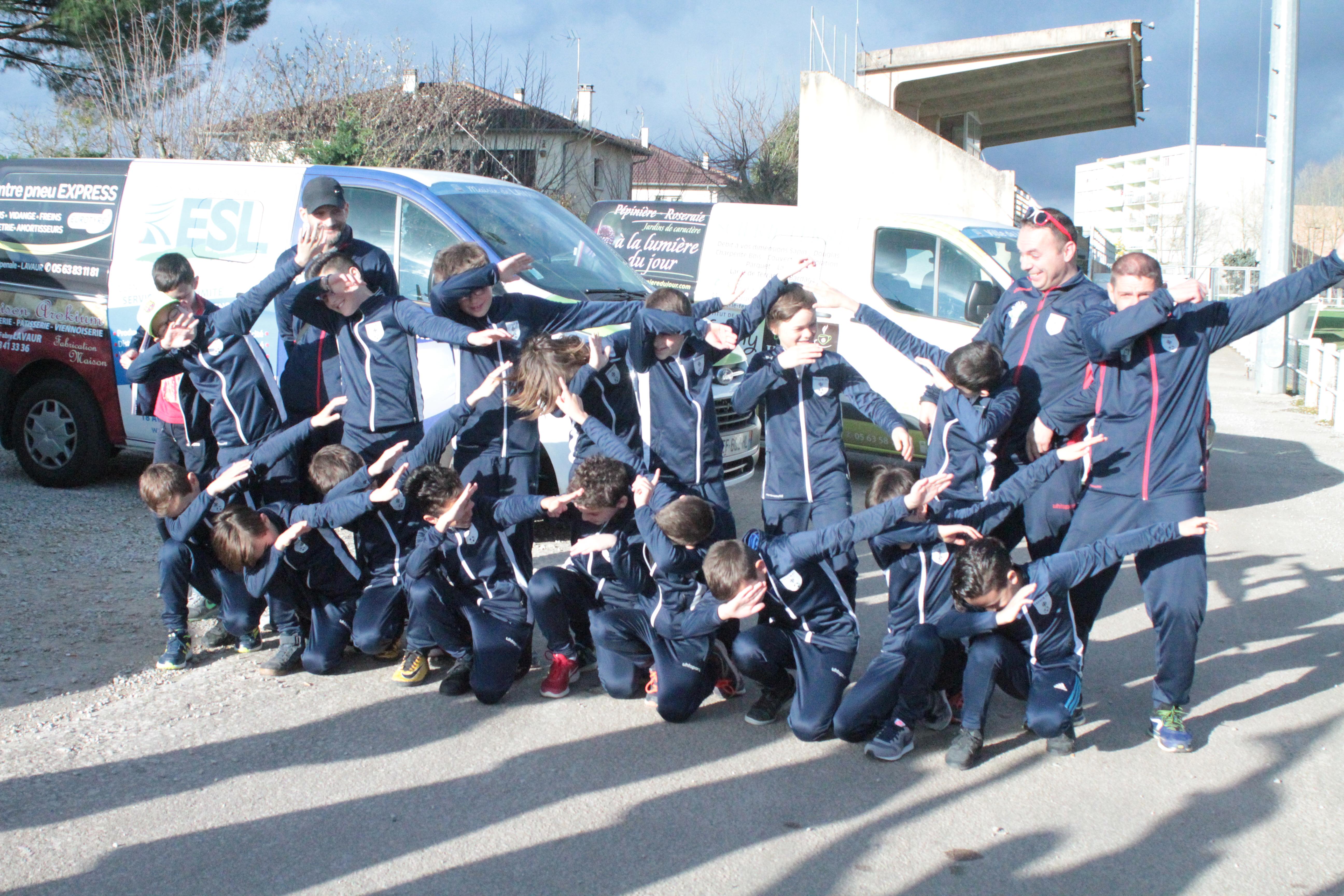 U11 tournoi international de Blanes Espagne c'est parti