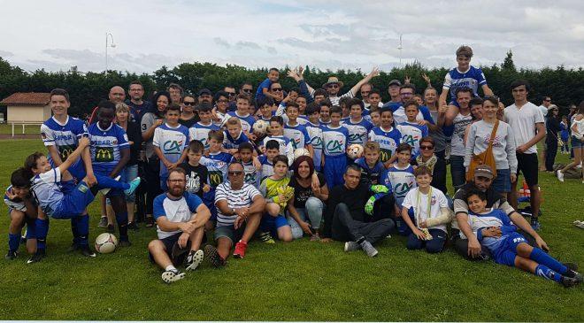 U13: fin de saison réussie au tournoi de Biscarosse !