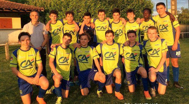 U15: une victoire à Gaillac qui permet d'entrevoir l'accession en Ligue la saison prochaine