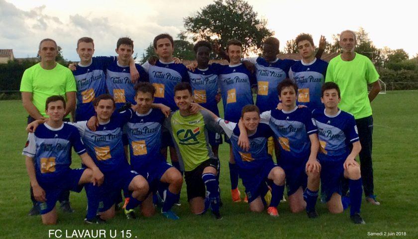U15: belle victoire sur le terrain de Marssac