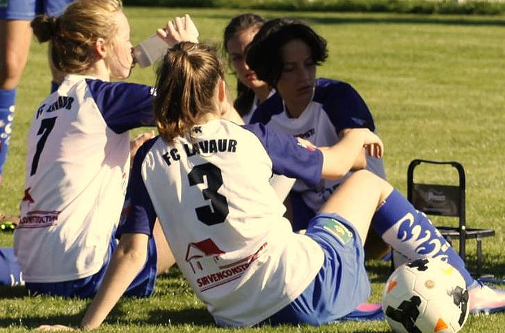 Vendredi 24 Août 19h30  Match de Gala Féminines LavaurFC seniors Vs Féminines seniors1 TFC ligue2
