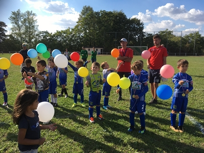 Des news des U7 weekend du 29/30 septembre 2018