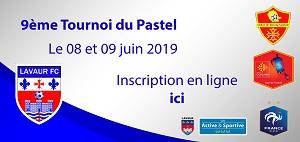 TOURNOI DU PASTEL 2019 Inscription ici