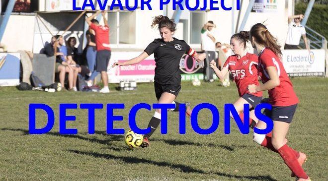 Détections : Le Projet des filles du LAVAUR F.C. bat son plein