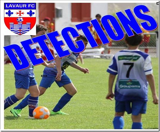 Detections : Le Projet du LAVAUR F.C. bat son plein