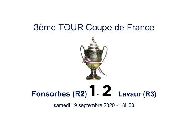 La 'PERF' pour LAVAUR (R3) à FONSORBES (R2) en Coupe de France