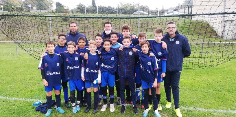 Les coaches U12/U13 satisfaits de leurs troupes !