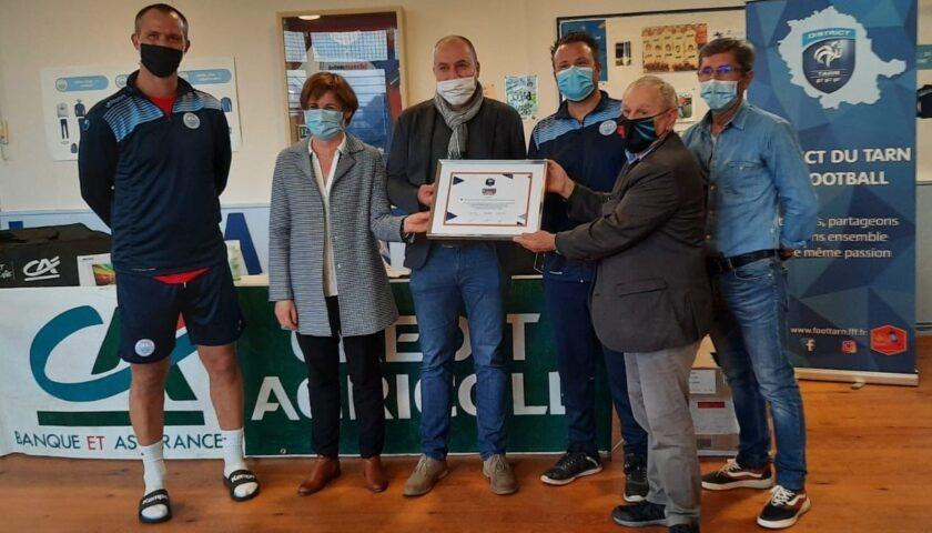 Le Lavaur FC, 3ème club du Tarn à recevoir le « Label Jeunes FFF »