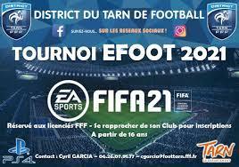 EFOOT FIFA 2021, TOURNOI DISTRICT DU TARN DE FOOTBALL